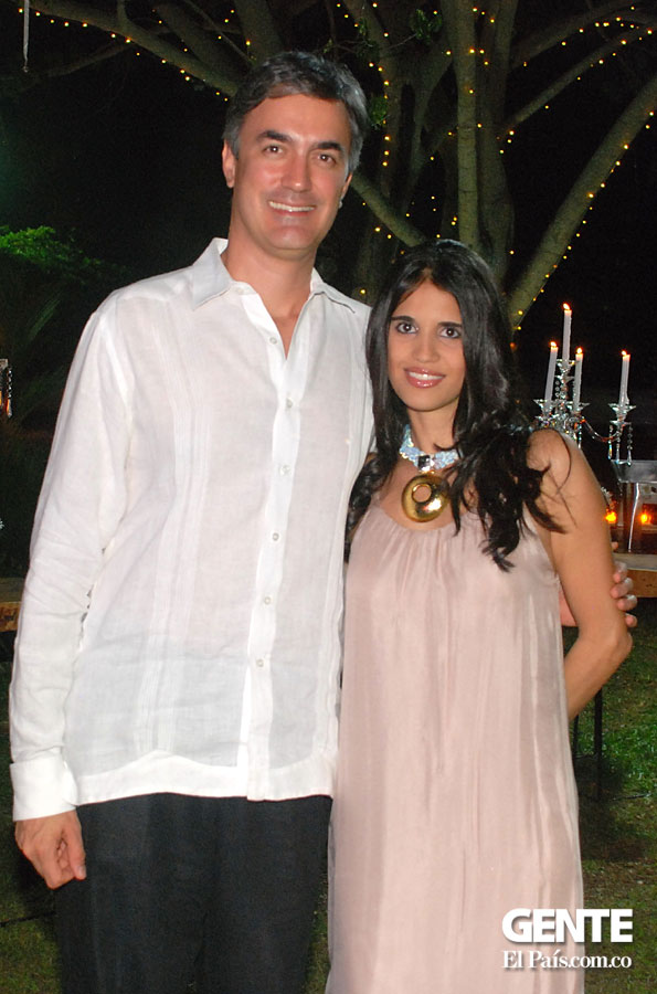 Christian Garcés y Carolina Blum