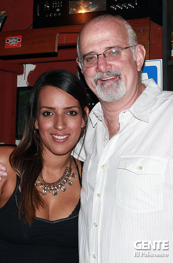 Marcela Orozco y Martyn Smith