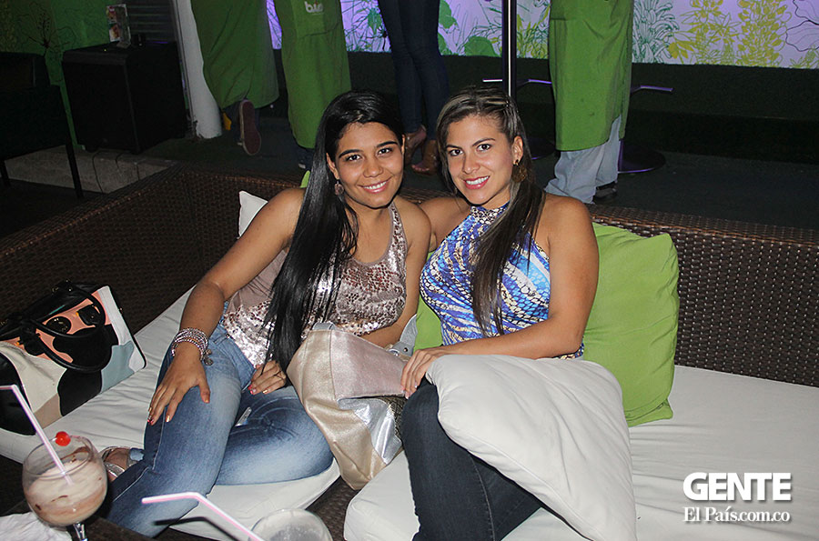 Diana Lozano y Carolina Cruz