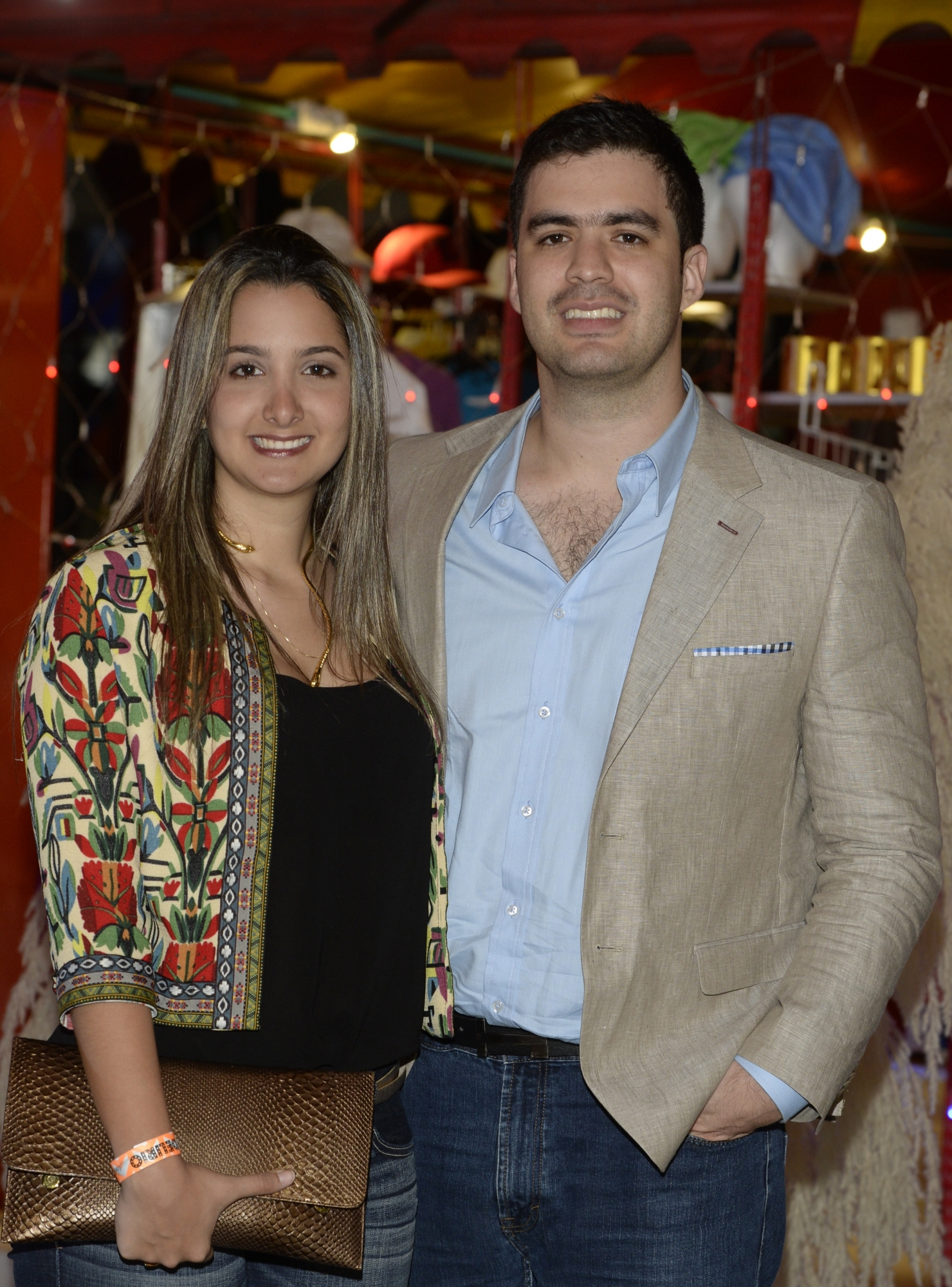 Juliana Ruiz y Luis Enrique Meza.