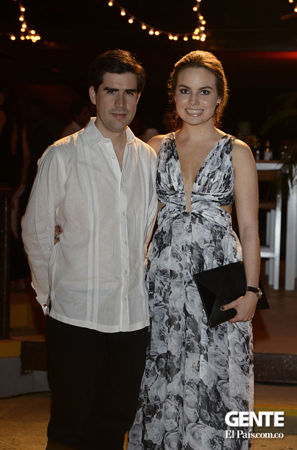 David Arango y Carolina Gómez
