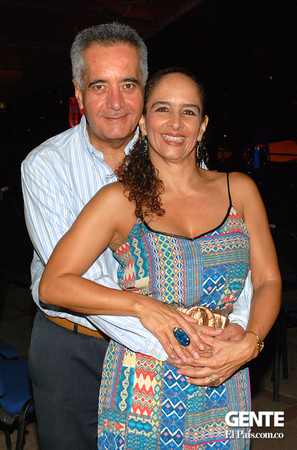 William Delgado y Patricia Prado