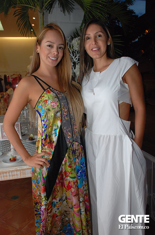 Marcela Barrientos y Diana Medina
