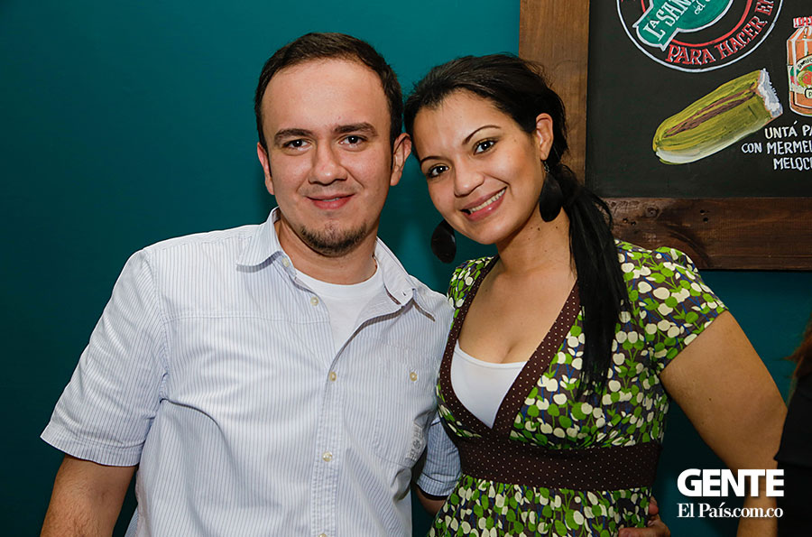 David Arias y Rosario Bruzon