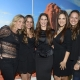 Marisa Arabia, Marcela Akerman, Marcela Bellini, Nelly Rojas y Denisse Akerman